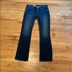 AG petite boot cut jeans